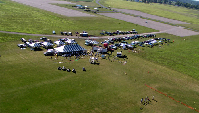 Muncie Soaring Site is probably the premier RC Soaring Contest location in the World.